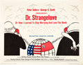 "Movie Posters:Comedy, Dr. Strangelove or: How I Learned to Stop Worrying and Love theBomb (Columbia, 1964). Half Sheet (22"" X 28"").. ..."