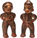 Antiques:Antiquities, A Costa Rican Couple... (Total: 2 Items)