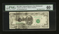 Error Notes:Ink Smears, Fr. 2079-E $20 1993 Federal Reserve Note. PMG Extremely Fine 40EPQ.. ...