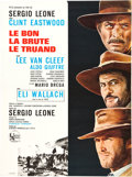 "Movie Posters:Western, The Good, the Bad and the Ugly (United Artists, 1968). French Affiche (23"" X 30.5"").. ..."