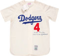 "Baseball Collectibles:Uniforms, Duke Snider ""The Duke of Flatbush"" Signed Jersey...."