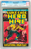 Bronze Age (1970-1979):Superhero, Hero for Hire #1 Western Penn pedigree (Marvel, 1972) CGC VF 8.0 White pages....