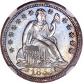 Seated Dimes, 1855 10C Arrows MS67 NGC....