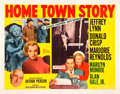 """Movie Posters:Drama, Home Town Story (MGM, 1951). Half Sheet (22"""" X 28"""") Style A. Drama.. ..."""