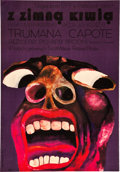 "Movie Posters:Crime, In Cold Blood (Columbia, 1967). Polish One Sheet (23"" X 33"") A1Vertical.. ..."