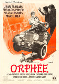 """Movie Posters:Drama, Orphée (DisCina, 1950). French Affiche (22"""" X 31.5"""").. ..."""