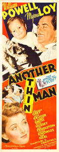 "Movie Posters:Mystery, Another Thin Man (MGM, 1939). Insert (14"" X 36"").. ..."