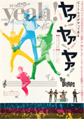 """Movie Posters:Rock and Roll, A Hard Day's Night (United Artists, 1964). Japanese B2 (20"""" X29"""").. ..."""