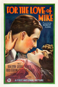 "Movie Posters:Comedy, For the Love of Mike (First National, 1927). One Sheet (27"" X 41"")Style A.. ..."