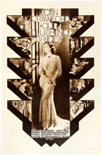 """Our Blushing Brides (MGM, 1930). Rotogravure One Sheet (27"""" X 41"""")"""