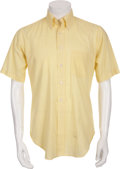 Music Memorabilia:Costumes, Buddy Holly's Short-Sleeve Shirt by Arrow....