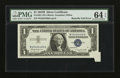 Error Notes:Foldovers, Fr. 1621 $1 1957B Silver Certificate. PMG Choice Uncirculated 64EPQ.. ...