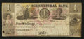 Canadian Currency: , Toronto, UC- The Agricultural Bank $1 Oct. 1, 1837 Ch. #20-12-04-02. ...
