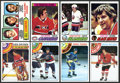 Hockey Cards:Lots, 1977-78 and 1978-79 Topps Hockey High Grade Complete Sets (2). ...