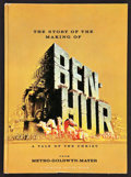 "Movie Posters:Historical Drama, Ben-Hur Lot (MGM, 1959). Hard Cover Program (Multiple Pages, 8"" X11"") and One Sheet (27"" X 41""). Historical Drama.. ... (Total: 2Items)"