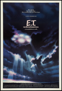 "E.T. The Extra-Terrestrial (Universal, 1982). One Sheet (27.25"" X 40.75"") Advance. Science Fiction"