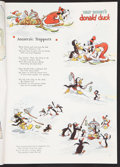 "Movie Posters:Animated, Donald Duck & Goofy in ""Polar Trappers"" (Good Housekeeping,1938). Magazine (222 pages) (8.75"" X 12""). Animated.. ..."