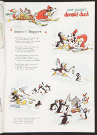 """Donald Duck & Goofy in """"Polar Trappers"""" (Good Housekeeping, 1938). Magazine (222 pages) (8.75"""" X..."""