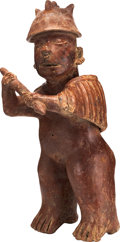 Antiques:Antiquities, Colima Warrior Brandishing a Club...