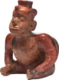Antiques:Antiquities, Seated Hunchback Figure...
