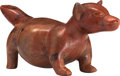 Antiques:Antiquities, Dog with Pointed Snout...