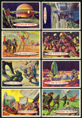"""Non-Sport Cards:Sets, 1957 Topps """"Space Cards"""" Near Set (75/88). ..."""