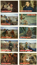 Non-Sport Cards:Sets, 1956 Topps Davy Crockett Orange Back Complete Set (80). ...