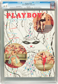Magazines:Miscellaneous, Playboy V2#2 (HMH Publishing, 1955) CGC VF+ 8.5 White pages....