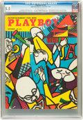Magazines:Vintage, Playboy #10 (HMH Publishing, 1954) CGC FN- 5.5 Off-white to white pages....