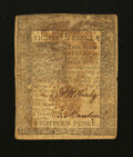 Colonial Notes:Delaware, Delaware January 1, 1776 18d Fine.. ...