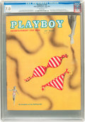 Magazines:Vintage, Playboy #8 (HMH Publishing, 1954) CGC FN/VF 7.0 White pages....