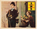 "Movie Posters:Comedy, City Lights (United Artists, 1931). Lobby Card (11"" X 14"").. ..."
