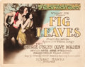 "Movie Posters:Comedy, Fig Leaves (Fox, 1926). Title Lobby Card and Lobby Card (11"" X14"").. ... (Total: 2 Items)"