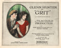"Movie Posters:Crime, Grit (Hodkinson Pictures, 1924). Title Lobby Card and Lobby Cards(3) (11"" X 14"").. ... (Total: 4 Items)"