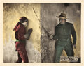 "Movie Posters:Swashbuckler, The Mark of Zorro (United Artists, 1920). Lobby Cards (4) (11"" X 14"").. ... (Total: 4 Items)"