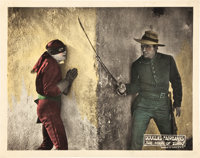 "The Mark of Zorro (United Artists, 1920). Lobby Cards (4) (11"" X 14""). ... (Total: 4 Items)"