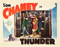 "Movie Posters:Drama, Thunder (MGM, 1929). Lobby Cards (3) (11"" X 14"").. ... (Total: 3Items)"