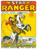 Platinum Age (1897-1937):Miscellaneous, Star Ranger #1 Windy City pedigree (Centaur, 1937) Condition:FN+....