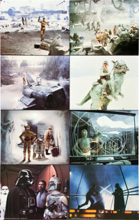 """The Empire Strikes Back (20th Century Fox, 1980). Deluxe Lobby Card Set of 8 (11"""" X 14""""). ... (Total: 8 Items)"""