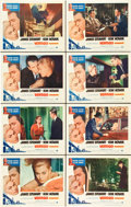 "Movie Posters:Hitchcock, Vertigo (Paramount, R-1963). Lobby Card Set of 8 (11"" X 14"").. ...(Total: 8 Items)"