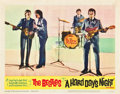 """Movie Posters:Rock and Roll, A Hard Day's Night (United Artists, 1964). Lobby Cards (3) (11"""" X14"""").. ... (Total: 3 Items)"""