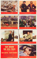"Movie Posters:Drama, For Whom the Bell Tolls (Paramount, 1943). Lobby Card Set of 8 (11""X 14"").. ... (Total: 8 Items)"
