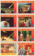"Movie Posters:Science Fiction, This Island Earth (Universal International, 1955). CGC Graded LobbyCard Set of 8 (11"" X 14"").. ... (Total: 8 Items)"