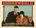"Movie Posters:Crime, Underworld (Paramount, 1927). Lobby Cards (2) (11"" X 14"").. ...(Total: 2 Items)"