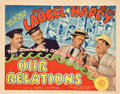 "Movie Posters:Comedy, Our Relations (MGM, 1936). Title Lobby Card and Lobby Card (11"" X14"").. ... (Total: 2 Items)"