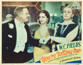 """Movie Posters:Comedy, You're Telling Me (Paramount, 1934). Lobby Card (11"""" X 14"""").. ..."""