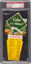 Baseball Cards:Singles (1950-1959), 1952 Coca-Cola Gil Hodges PSA NM-MT 8 - Pop 3, None Higher!...