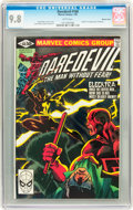 Modern Age (1980-Present):Superhero, Daredevil #168 Western Penn pedigree (Marvel, 1981) CGC NM/MT 9.8White pages....