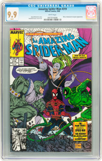 The Amazing Spider-Man #319 (Marvel, 1989) CGC MT 9.9 White pages