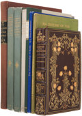 Books:First Editions, Eight Books About Books, including: Henri Pène du Bois. AmericanBookbindings in the Library of Henry William Poor. ... (Total: 7Items)